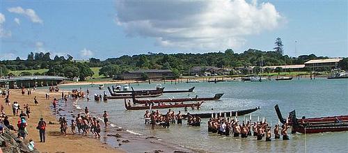 Waitangi Day Waka2