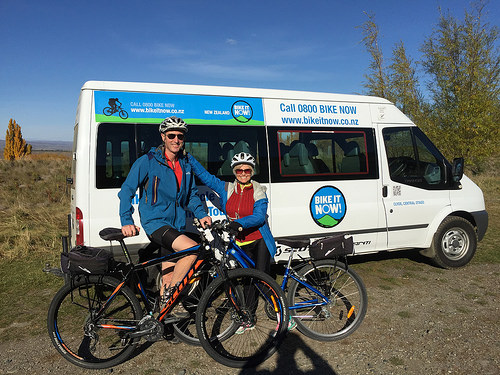Central Otago cycling begins