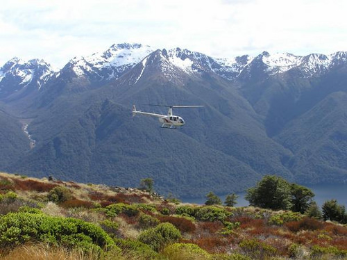 Southern Lakes Helicopters Mt Luxmore