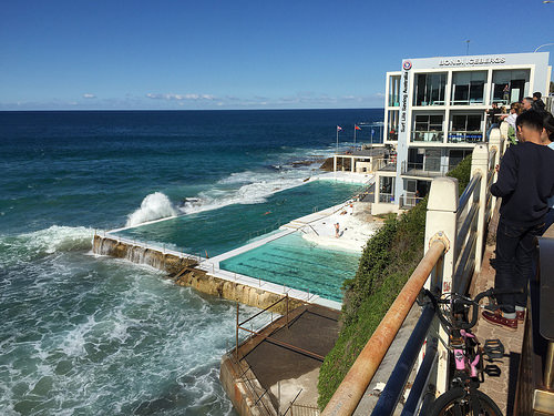 Bondi Beach public swimming pool