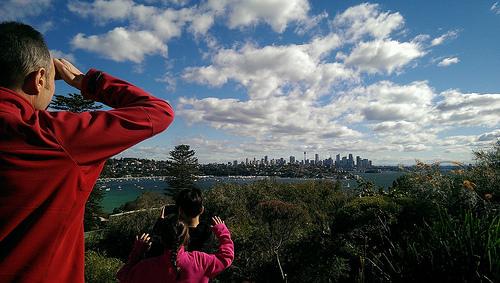 Sydney panorama blog