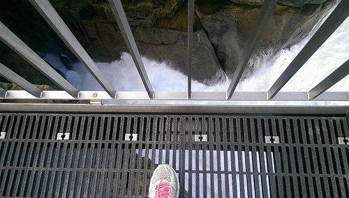 The Gap viewing shoe