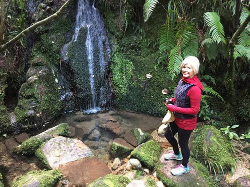 Apple Tree Bay waterfall