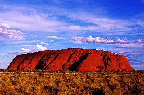 New Zealand Australia vacation combined - Uluru (Ayers Rock) Australia