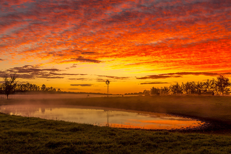 honeymoon sunrise in australia