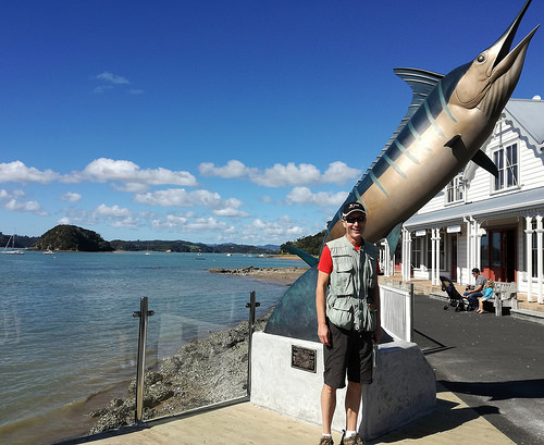 Big game fish region ex Paihia in the Bay of Islands.