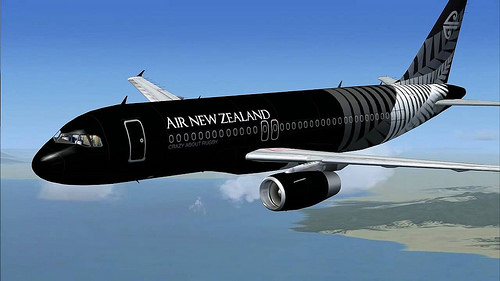 Cover New Zealand travel times and distances with Air New Zealand flights