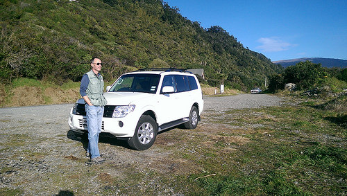 rental cars are easily used to cover new zealand distances