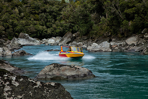 Jet Boating Tours North and South Island New Zealand
