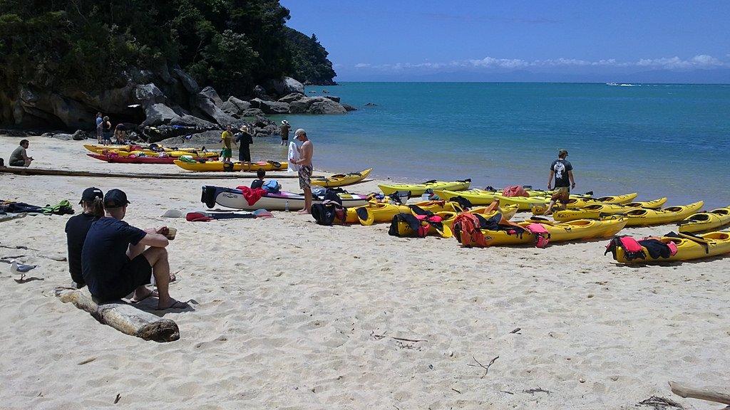 Kayaking Abel Tasman NP - Guest New Zealand