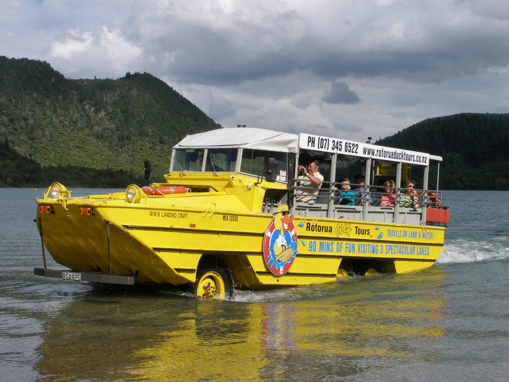 Rotorua Ducks Tour