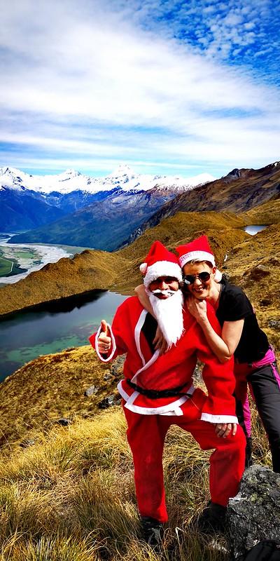 alpine lakes wanaka at christmas time