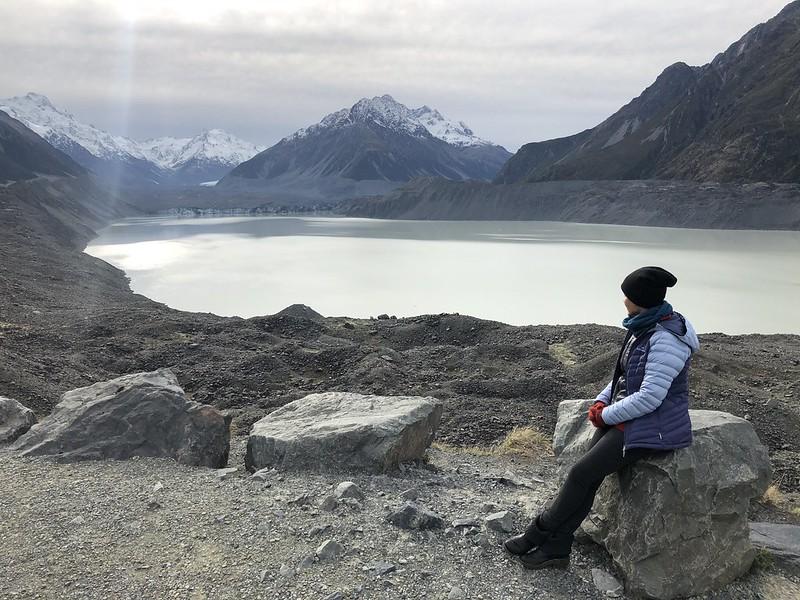 Tasman Glacier Valley Walk in Mt. Cook NP