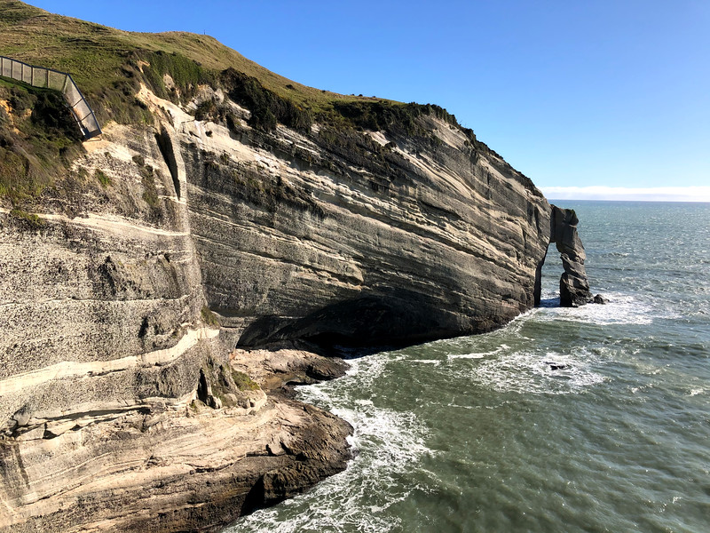 Cape Farewell local walk while travelling Golden Bay