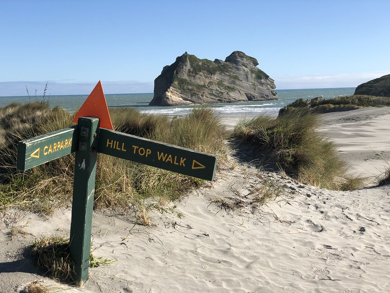 Must do when travelling Golden Bay is Wharariki Beach