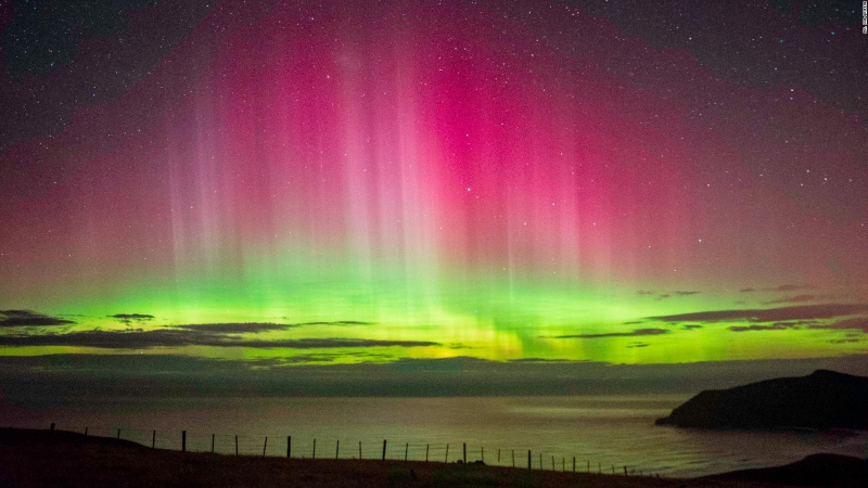 Southern Lights over New Zealand - Best Places for Stargazing New Zealand
