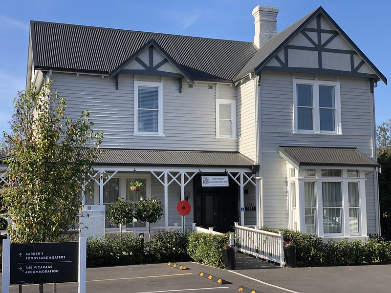 the vicarage geraldine boutique accommodation